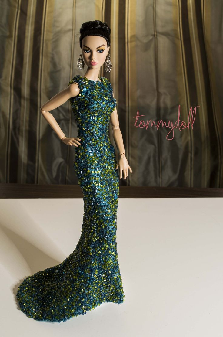 Funky Evening Gown Barbie Gift - Wedding and flowers ispiration ...