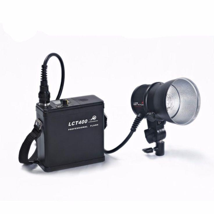 359.00$  Buy now - http://aliwkn.worldwells.pw/go.php?t=32630151793 - CONONMARK LCT400 Kit 400W Adjust Power Pro Outdoor/Studio Strobe Flashlight,video light /camera,dslr lamp for wedding
