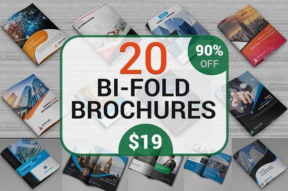 20 Corporate Brochure Bundle 90% OFF by Imagine Design Studio on @creativemarket