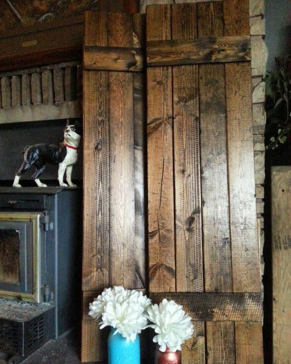 1000 ideas about country shutters on pinterest wooden - Decorative interior wall shutters ...