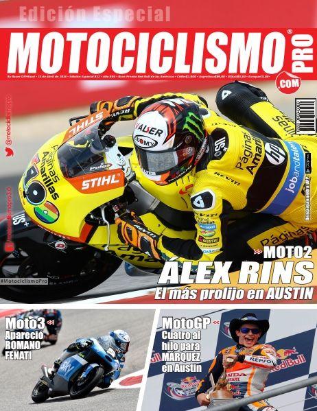 "Editorial | Round 3 | Red Bull Grand Prix of The Américas  * Moto2: @Rins42 del @pons_racing el mas   prolijo * Moto3: Apareció @RomanoFenati * MotoGP: ""Cuatro al Hilo"" para @marcmarquez93  #MotociclismoPro #MotoGPBuzz #AmericasGP"