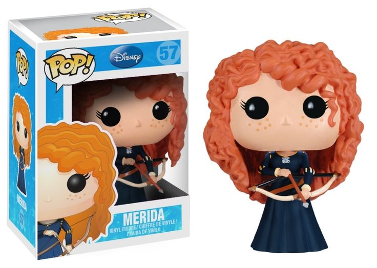 AmazonSmile: Funko POP Disney Series 5: Merida Vinyl Figure: Toys & Games
