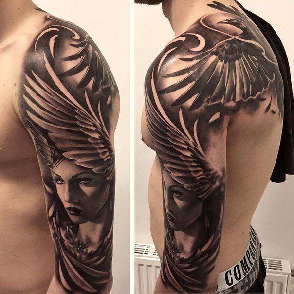 Pornstar angel wings tatoo exceed thin