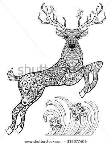 Adult Coloring Pages Vintage Holiday Copic Zentangle Feelings Doodles Warm Mandalas