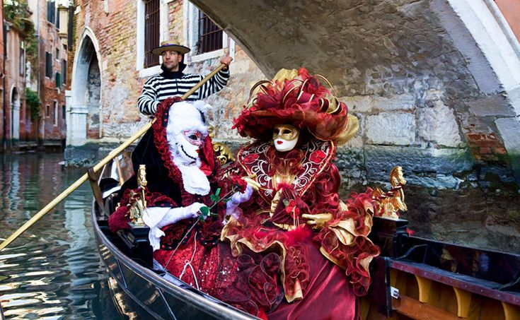 The Carnival of Venice (Italian: Carnevale di Venezia) is an annual festival, held in Venice, Italy. The Carnival ends with the Christian celebration of Lent, forty days before Easter on Shrove Tuesday (Martedi' Grasso or Mardi Gras), the day before Ash Wednesday.( 2016 : Jan 23–Feb 9, 2016 ) The festival is world-famed for its elaborate masks.