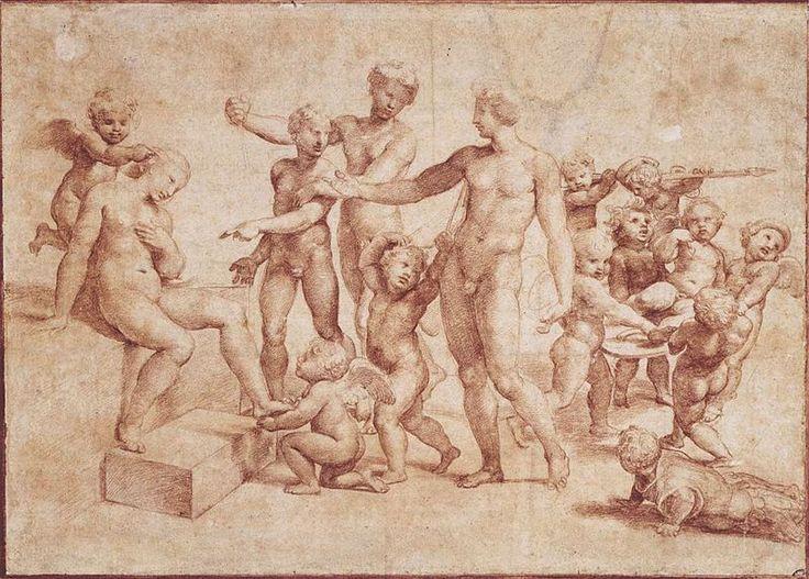 File:Raffaello, studio per matrimonio di alessandro e rossana.jpg