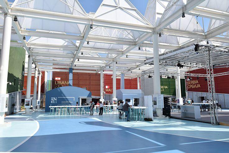Bio Mediterranean cluster pavilion at Expo Milan 2015