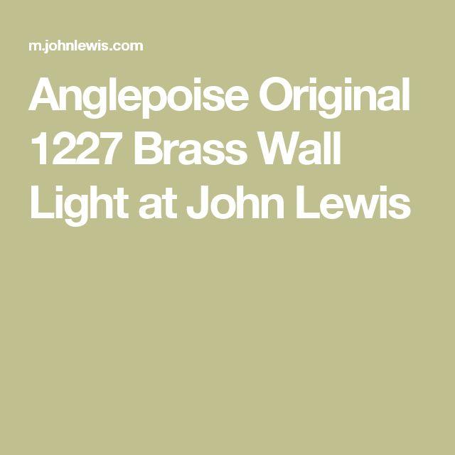 Best 20+ Brass wall lights ideas on Pinterest Scandinavian wall sconces, Sconces and Brass ...