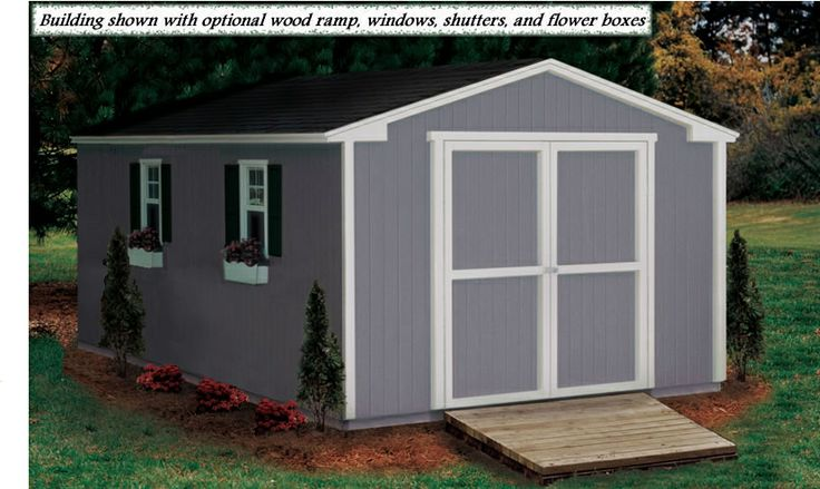 45 best house outdoors sheds images on pinterest for Affordable storage sheds