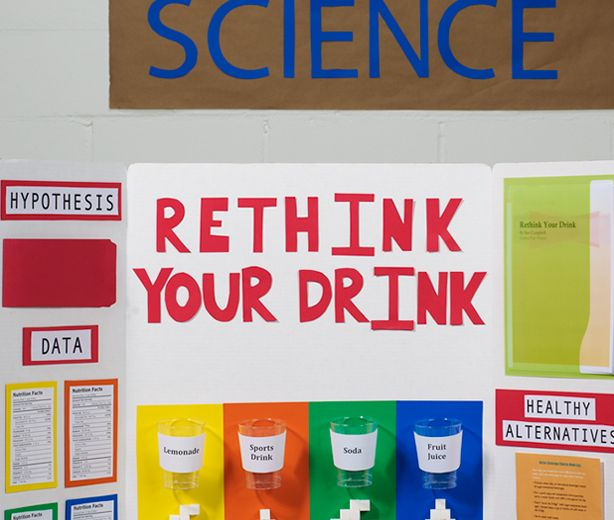 """rethink your drink essay """"rethink your drink"""" was a science project by a 5th-grader to help visualize the amount of sugar in everyday beverages."""
