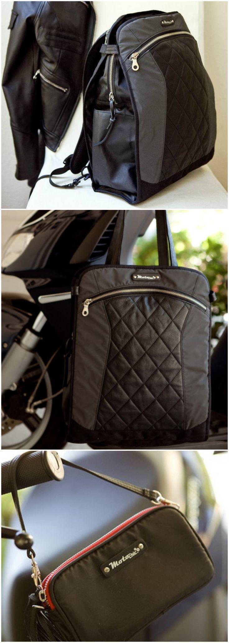 MOTORESS AVANT GARDE GEARSTYLE: Stilvolle praktische Taschen zum Tragen unserer …   – Women Purses