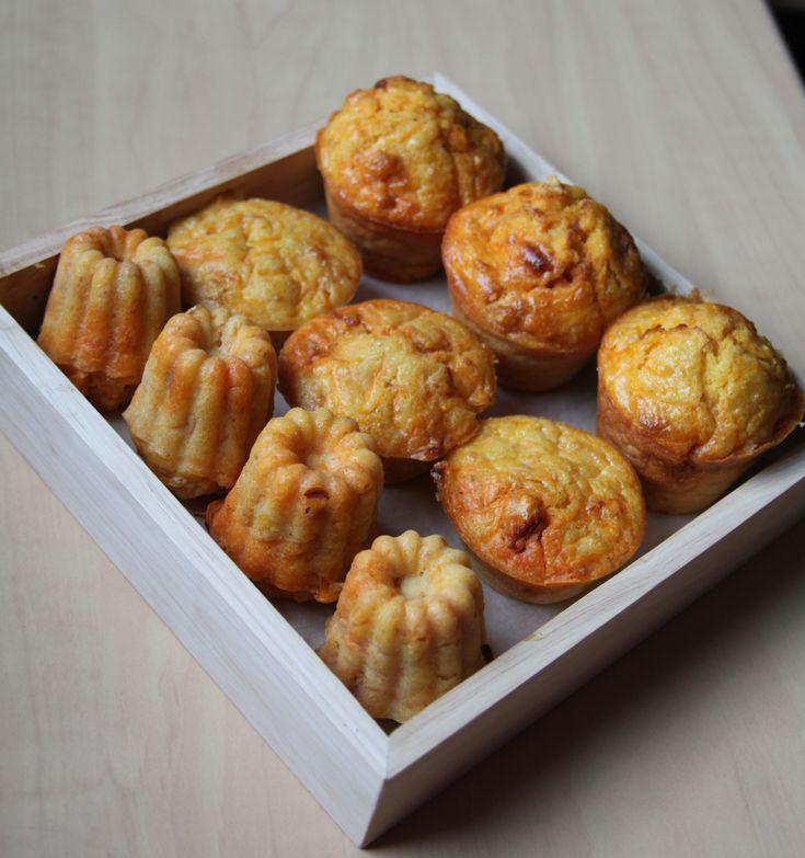 Muffins moelleux au potiron et chorizo | Bocook