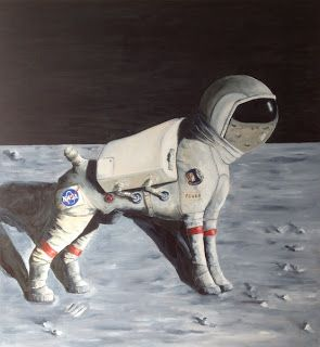 Lunar Rover by Lesley Melody