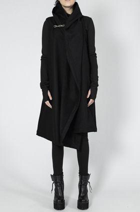 OVATE - Shawl collar wool vest - orimono.eu