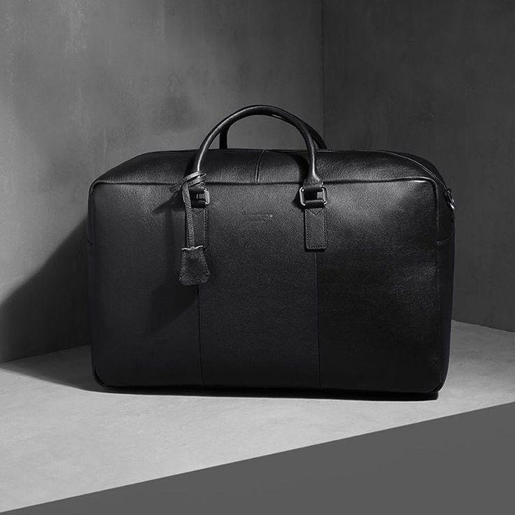 JR 48-HRS BAG | FULLGRAIN LEATHER WEEKENDER BAG | CUSTOMISED METAL HARDWARE • WWW.JIMRICKEY.COM • #jimrickey #stockholm #accessories #bags