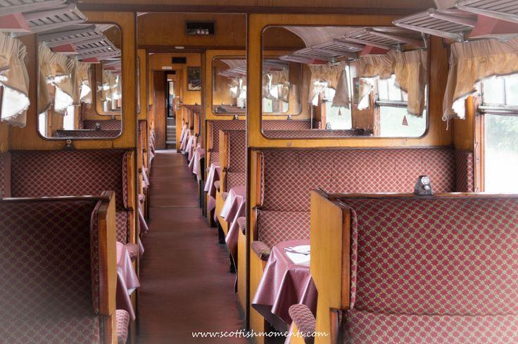 Med tåg genom skotska högländerna