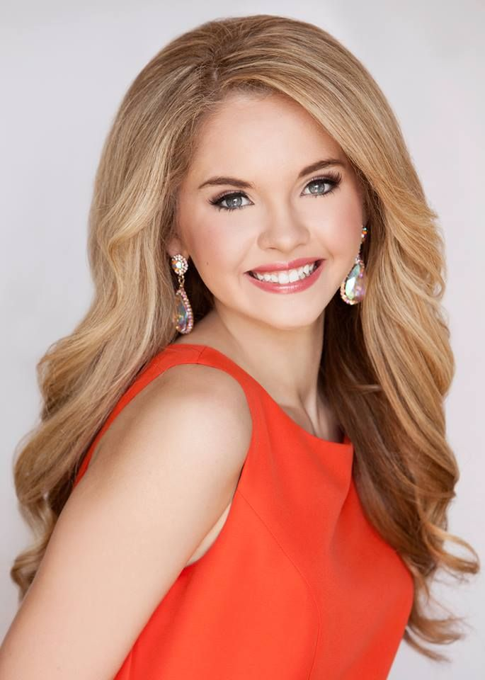 Stunning pageant headshot
