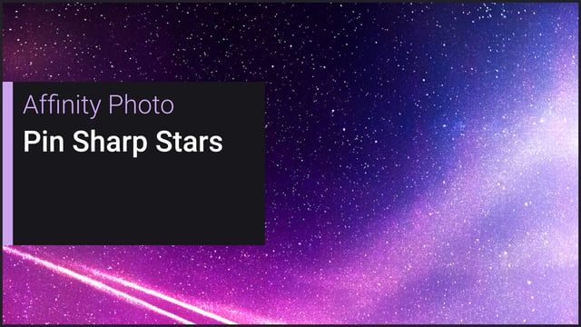 Learn how to stack a series of short exposures and increase the signal-to-noise ratio (SNR) for a clean result, then use filters and adjustments to really make the star detail pop.    See the final image here: https://500px.com/photo/204413213/still-sky-by-james-ritson    Credits: Photography by James Ritson.