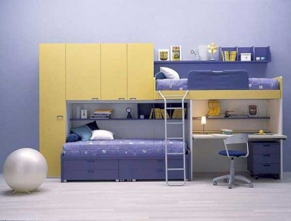 Fresh and efficient bunk beds ideas #architecture #bunk beds #bedroom #furniture #interior