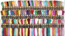 Бесплатная доставка 100 шт./лот двор вышивка темы вышивка крестом зубная нить Skeins схс похожие DMC(China (Mainland))