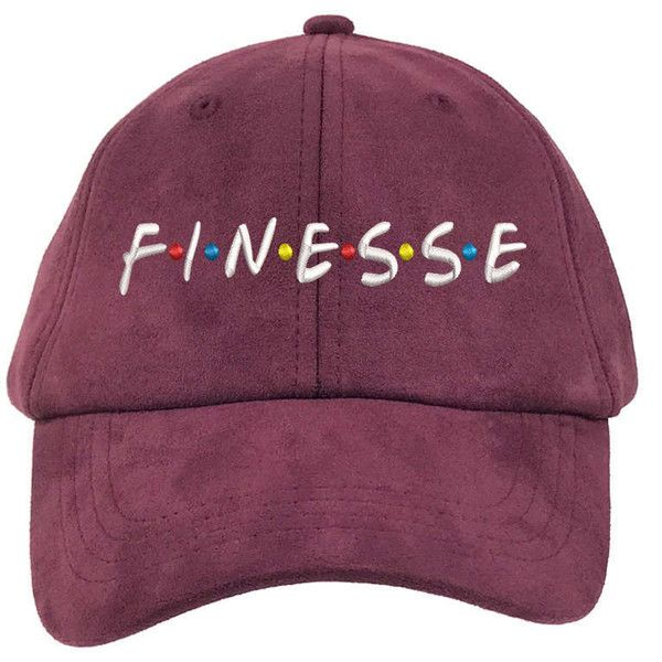 FINESSE Suede Dad Hat, Finessed Baseball Cap, Friends Dad Hat 90s... ($20) ❤ liked on Polyvore featuring accessories, hats, burgundy hat, ball cap, baseball caps, baseball cap hats and ball cap hats