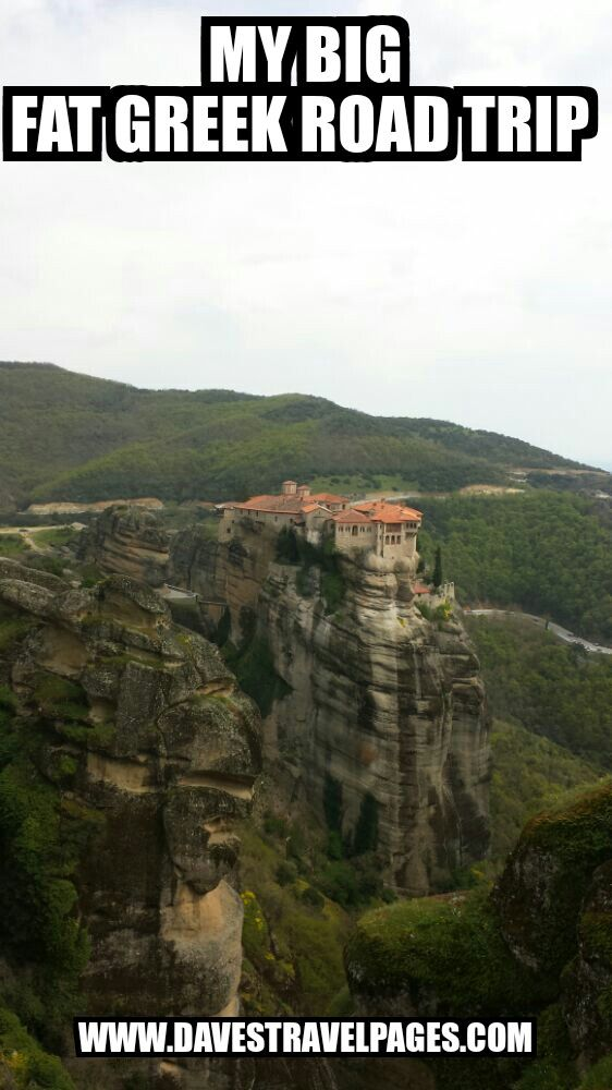 My Big Fat Greek Road Trip - Travel with me through ancient and modern Greece. Athens - Arachova - Meteora - Trikala - a hidden secret! - Thessaloniki - Athens