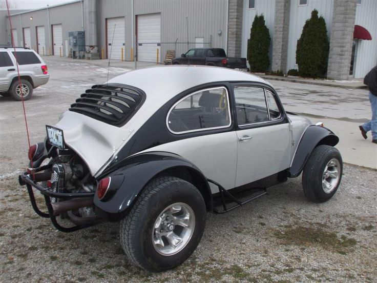 Love everything about this baja bug!