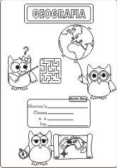 Copertine per quaderni di scuola | Maestra Mary