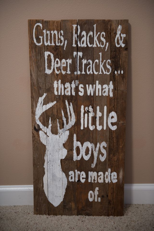 hand painted sign. baby boy outdoor nursery theme