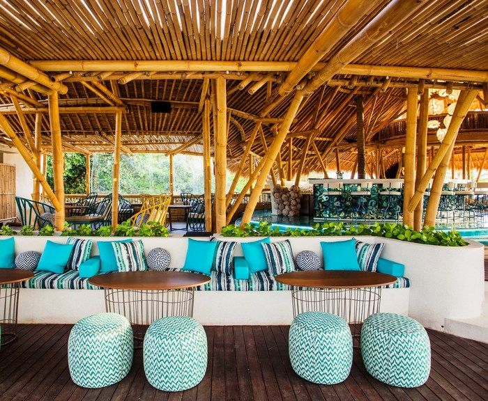 25 best beach bars ideas on pinterest backyard for Beach bar decorating ideas