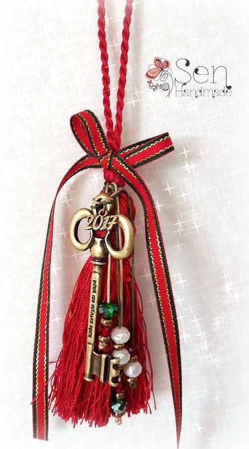 Luck-Charms : Good luck charm bronze key