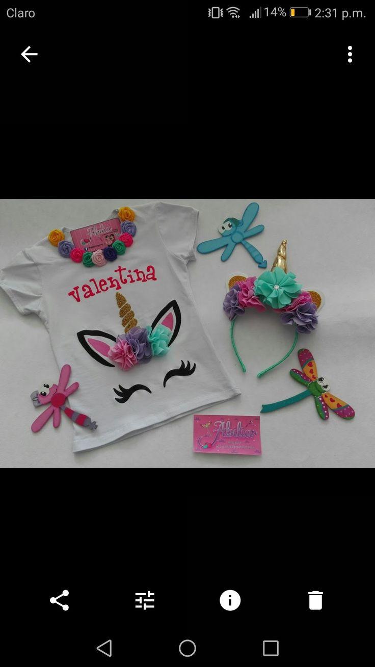 Camisetas y accesorios personalizados unicornios