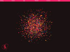 """""""We feel fine"""" project: We Feel Fine collects around 15,000 new feelings per day…"""