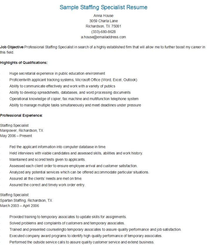 235 best resame images on Pinterest Website, Sample resume and
