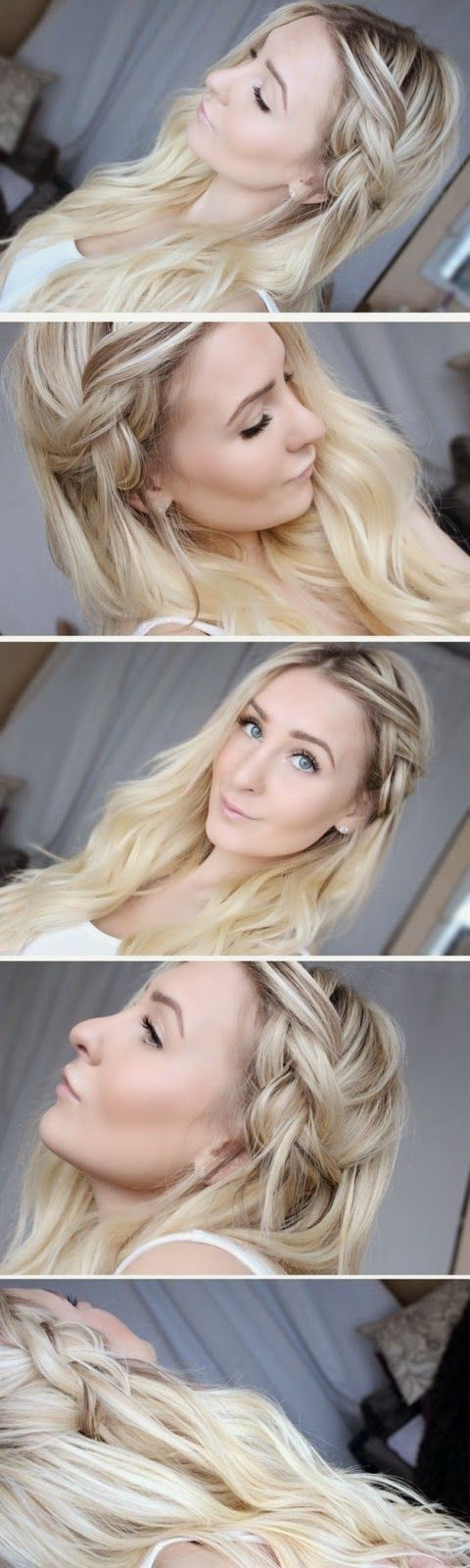 How to Chic: HALF-DONE BRAID