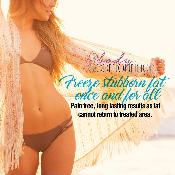 Freeze stubborn fat once and for all: Pain-free, long lasting results as fat cannot return to treated area. For more information or bookings contact hello@drgys.com #contouring
