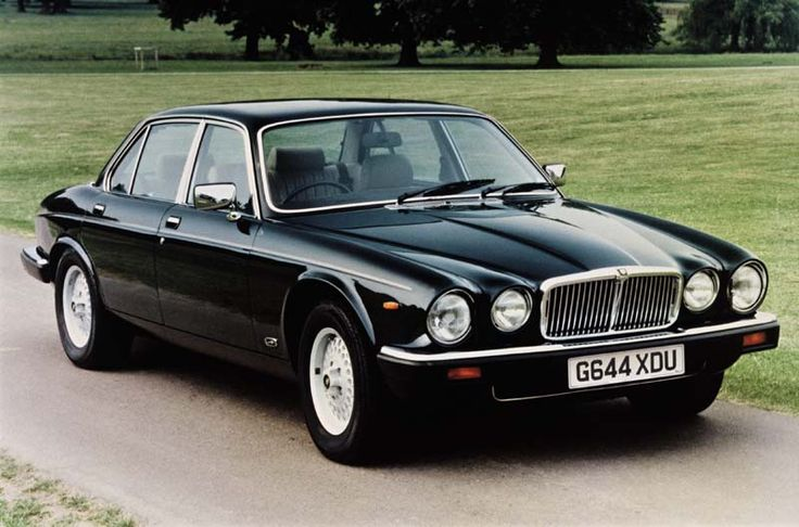 Jag XJ6...my dream car. So elegant. I'd prefer mine in British racing green though.