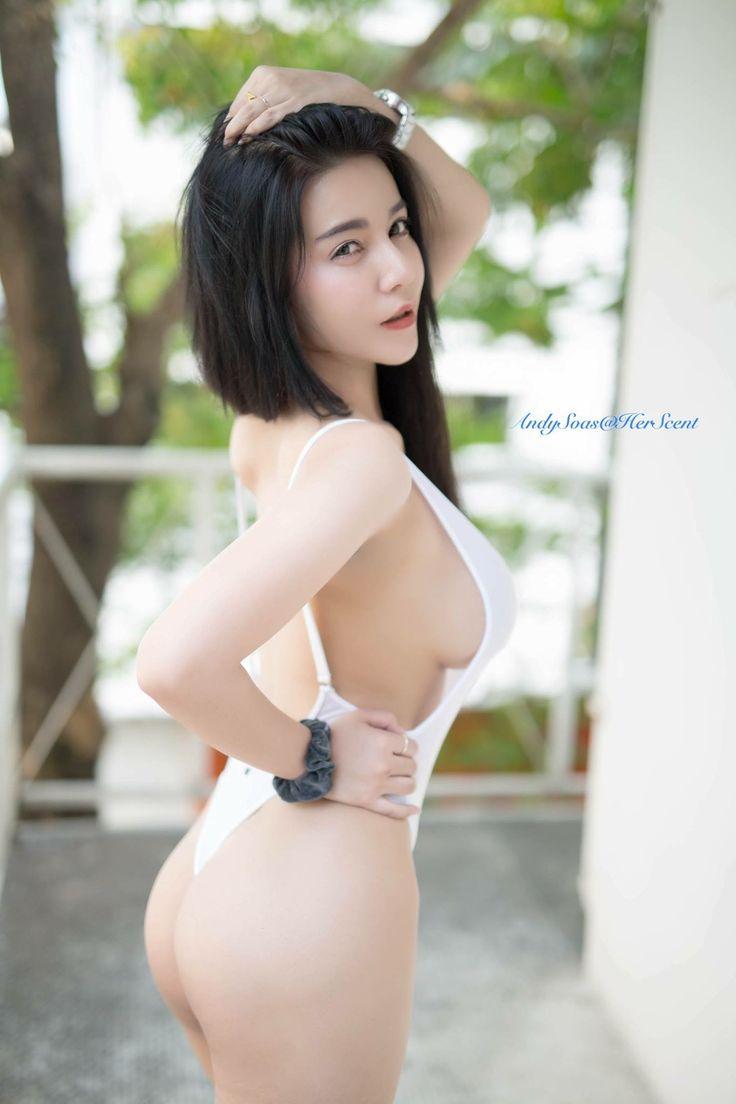 Asian Models Blog Editorial Ming Xi In Vogue China: Sexy, Swim Dress, Hot