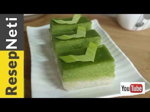 Resep Kue Lapis Ketan Srikaya Pandan Youtube Resep Kue Resep Kue Lapis