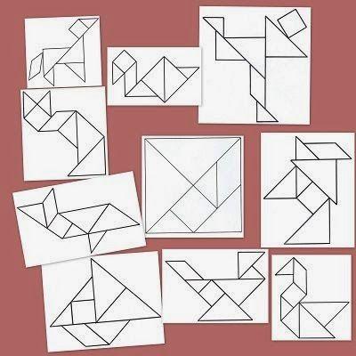 Psicopedagogia Salvador: Tangram: excelente ferramenta de aprendizagem
