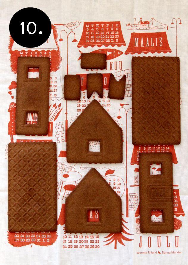 Kotipalapeli Ikea Ginger Bread House Kit Seasons Xmas