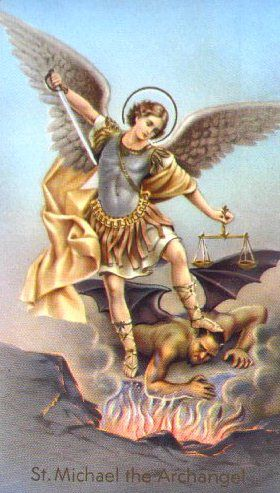 archangel michael- protection and assistance in times of stress and need