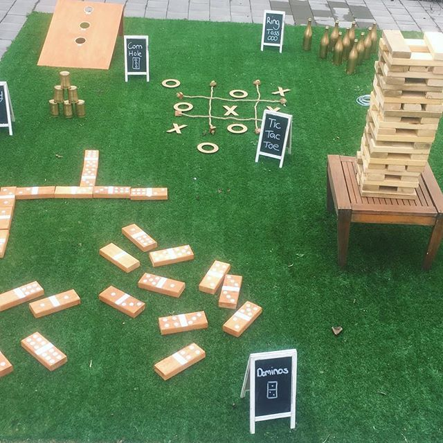 Lawn Games Package $50 Includes Giant Jenga, Giant Dominos, Giant Tic Tac Toe, Corn Hole and Crazy Cans . . . . . . . . . . . . . . . . . . . . . . . . #weddinghire #adelaideeventhire #adelaidehire #weddinghire #hiresa #lawngames #weddingstyle #partygames #adelaideevents #adelaideeventhire