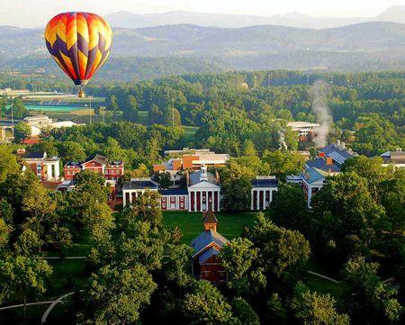 Washington & Lee University campus in Lexington, VA