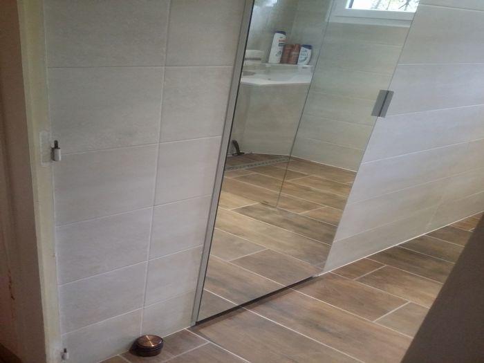 17 meilleures id es propos de portes de placard avec miroir sur pinterest - Placard miroir salle de bain ...