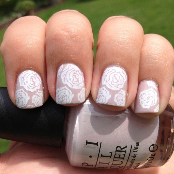 Romantic Rose Nails