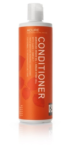 Acure - Moroccan argan oil + Argan stem cell conditioner triple moisture repairing. Super moisturising and contains a lot of goodies for your hair!