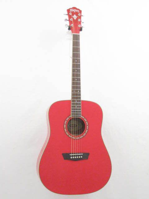 Washburn Apprentice Model WD10/R Red Dreadnought Size Acoustic Guitar - NEW! #Washburn #ACOUSTIC