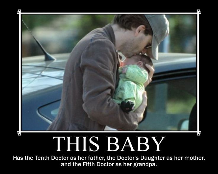 silver jewelery This baby has the Tenth Docto as her father  the Doctor  39 s Daughter as her mother  and the Fifth Doctor as her grandpa