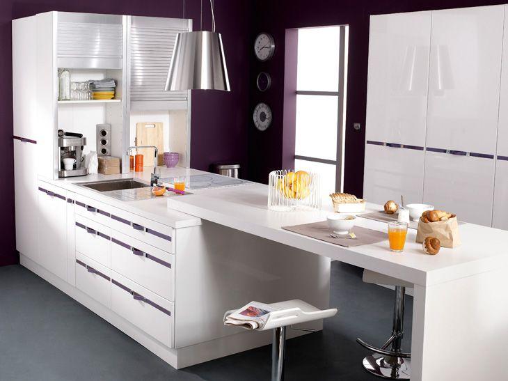 Stunning from leroy merlin un bar dans la cuisine with for Luminaire cuisine castorama